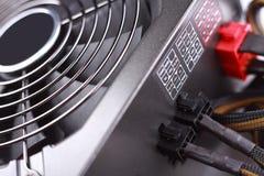Cadre d'alimentation d'énergie d'ordinateur Image stock