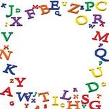 Cadre d'alphabet Image stock