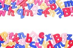 Cadre d'alphabet Image libre de droits