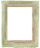 Cadre d'aquarelle Photographie stock