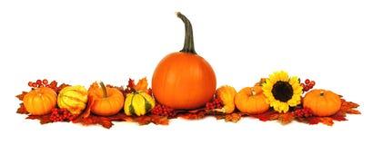 Cadre d'automne Photographie stock