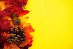 Cadre d'automne images stock