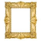 cadre d'or de classique du vintage 3d Images stock