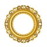 cadre d'or de classique du vintage 3d Image libre de droits