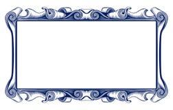 Cadre d'emblème de cru Photographie stock libre de droits