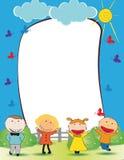 Cadre d'enfants Photo stock