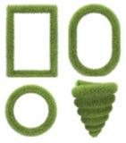 Cadre d'herbe image stock