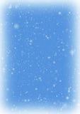 Cadre d'hiver de neige Images libres de droits