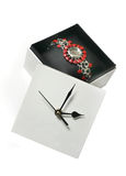 Cadre d'horloge Photo stock