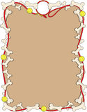 Cadre d'os de crabot Image stock