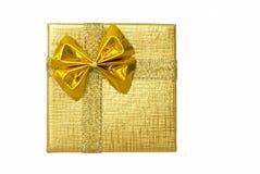 Cadre d'or vu de ci-avant Images libres de droits