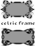 Cadre dans de style celtique Photographie stock