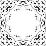 Cadre de Black&White image stock