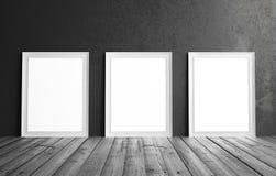 Cadre de blanc de Thee Image libre de droits