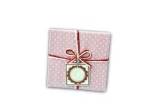 Cadre de cadeau Photographie stock libre de droits