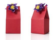 Cadre de cadeau Photo libre de droits