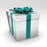 cadre de cadeau 3d Image libre de droits