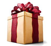 Cadre de cadeau actuel Image libre de droits