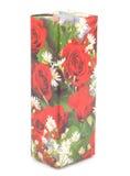 Cadre de cadeau avec des roses Photos stock