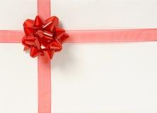 Cadre de cadeau blanc photo stock