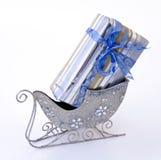 Cadre de cadeau dans l'étrier Photo stock