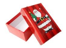 Cadre de cadeau de Noël Photographie stock libre de droits