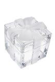 Cadre de cadeau en cristal Photographie stock
