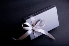 Cadre de cadeau particulièrement enveloppé Photographie stock