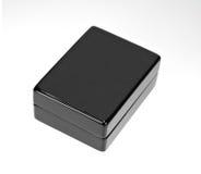 Cadre de cadeau poli par noir image stock