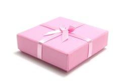 Cadre de cadeau rose Photo stock