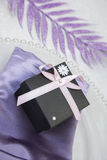 Cadre de cadeau Wedding/anniversaire Photo stock