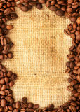 Cadre de café Photo stock