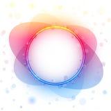 Cadre de cercle d'arc-en-ciel Image libre de droits