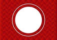Cadre de cercle de vecteur Photographie stock libre de droits