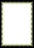 Cadre de certificat Images stock