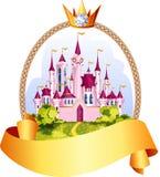 Cadre de château de princesse Photo stock