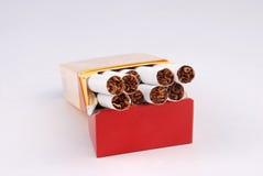 Cadre de cigarette image libre de droits