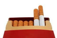 Cadre de cigarette Photos stock