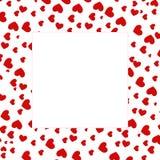 Cadre de coeur Photos libres de droits