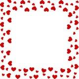 Cadre de coeur Images libres de droits