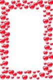 Cadre de coeur illustration de vecteur