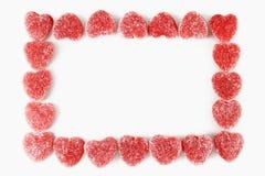 Cadre de coeur Image stock