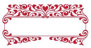 Cadre de copie de jour de Valentines Image stock