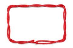 Cadre de corde Photographie stock libre de droits