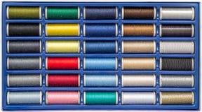 Cadre de couture de bobines Photos libres de droits