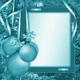 cadre de félicitations de Noël Photo stock