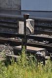 Cadre de feu de signalisation de train Image stock