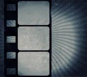 Cadre de film grunge avec l'espace pour le texte ou l'image Photos stock