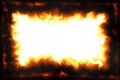 Cadre de flamme Photos libres de droits