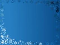 Cadre de flocon de neige illustration de vecteur